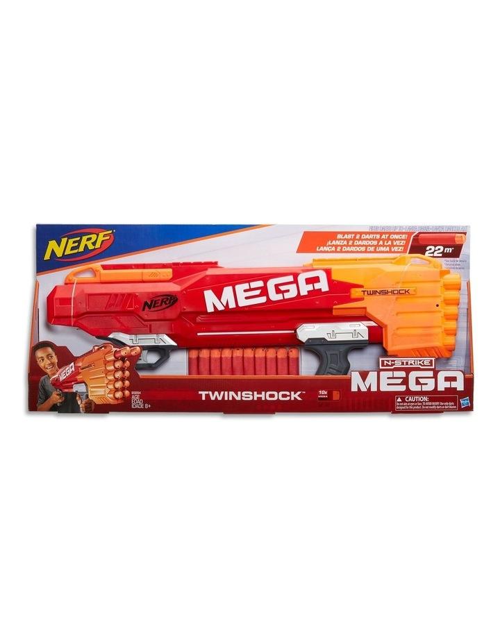 Mega Twinshock Blaster Including 10 Official Official Darts image 1