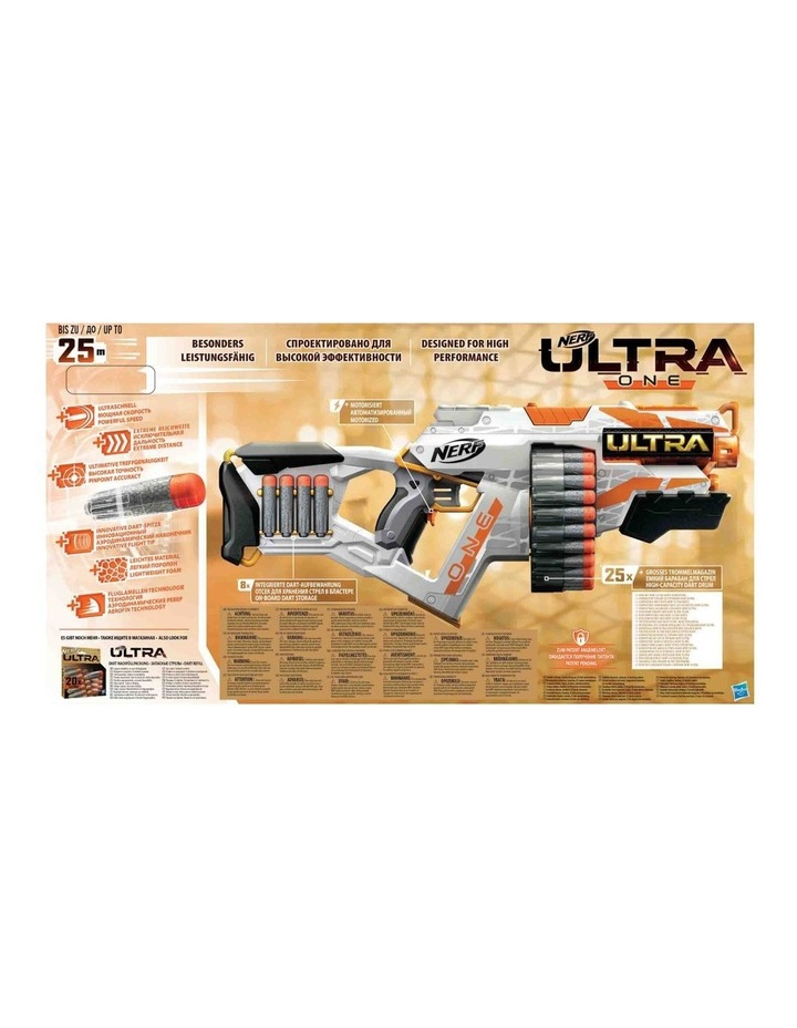 Ultra One - Motorised Blaster inc 25 Official Ultra Darts image 4