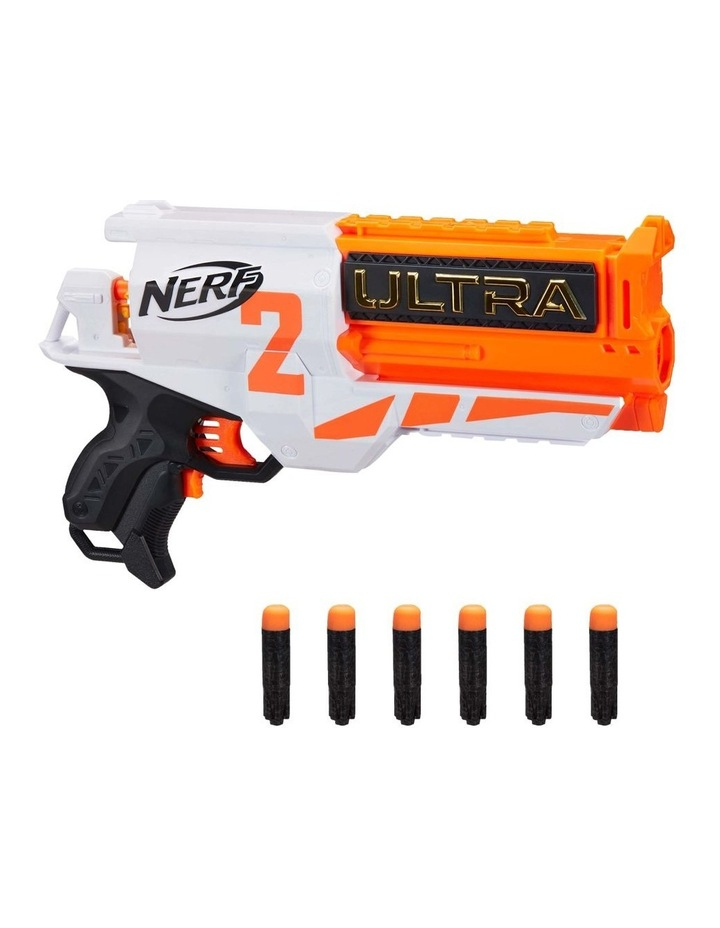 Ultra Two Motorised Blaster - Fast Back Reloading - Incl 6 Nerf Ultra Darts image 1