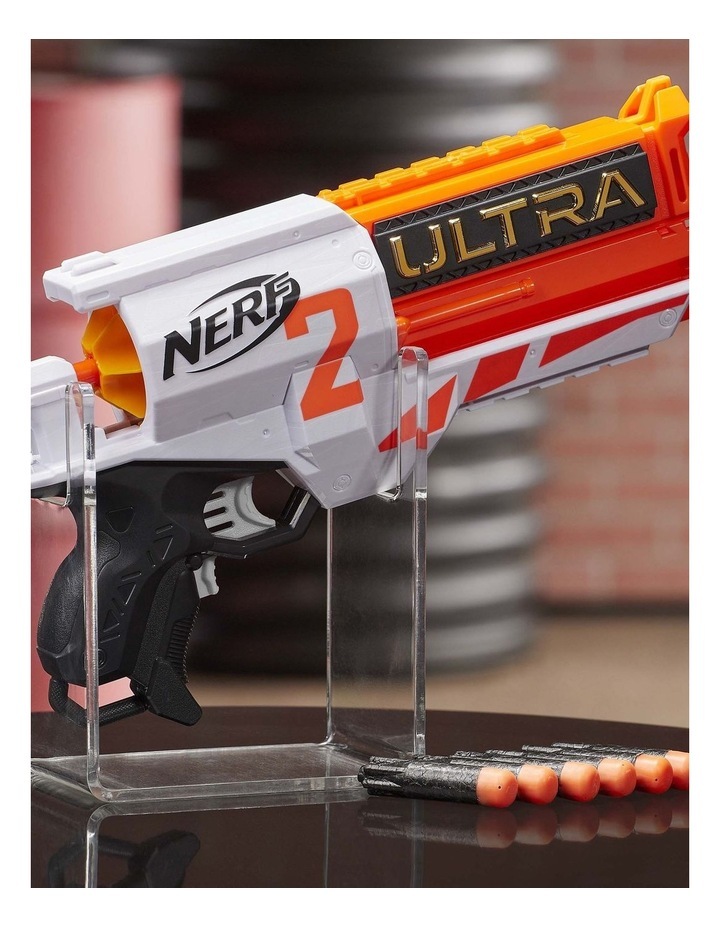 Ultra Two Motorised Blaster - Fast Back Reloading - Incl 6 Nerf Ultra Darts image 4