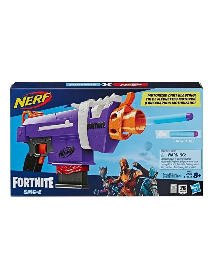 Fortnite NERF - SMG-E Blaster - Motorised Dart Blasting with 6 Dart Clip - Inc 6 Official NERF Elite Darts image 3