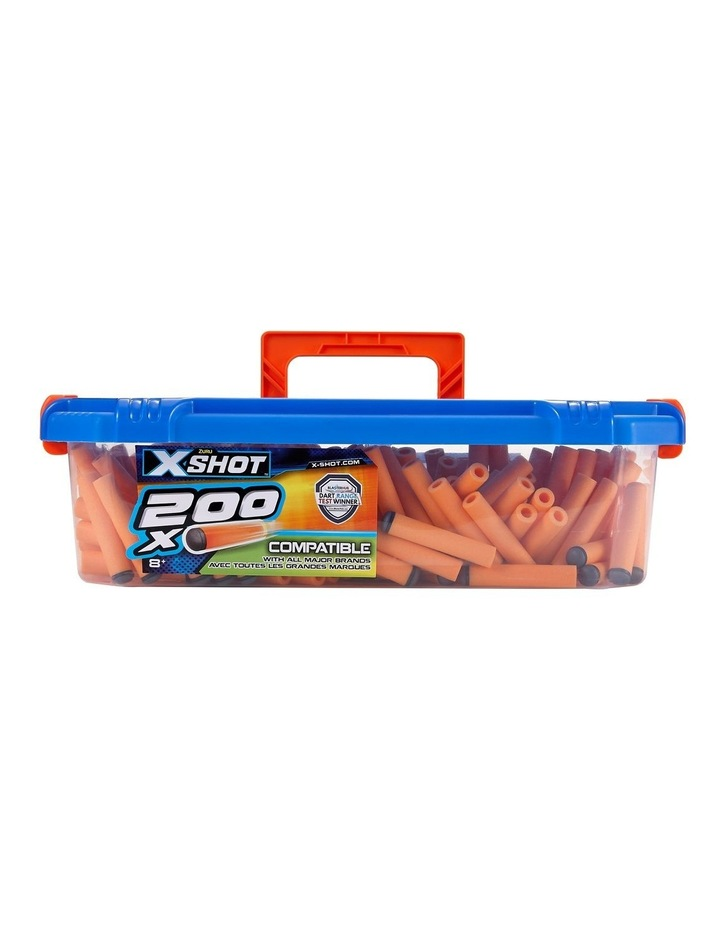 X-Shot Excel Universally Compatible Foam Darts Refill Box (200 Darts) image 1