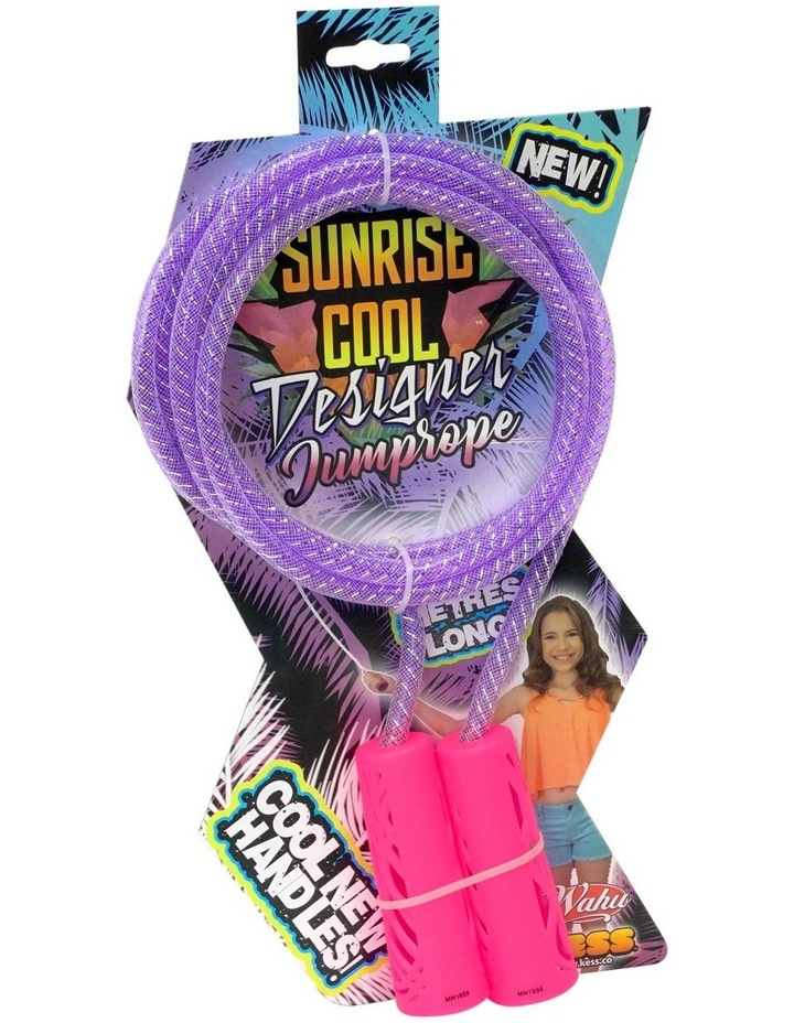 Sunrise Cool Designer Jump Rope image 2