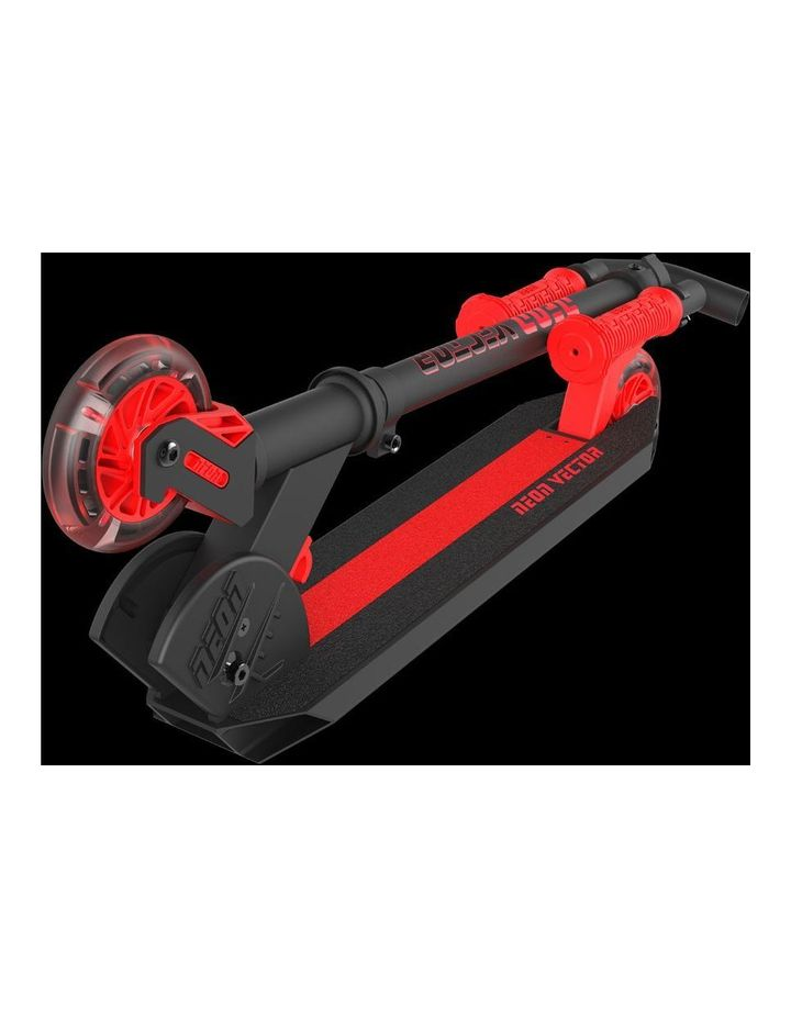 Neon Vector Scooter - Red image 2