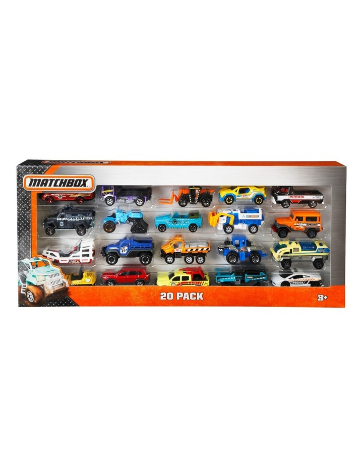 20 Assorted Car Pack image 1
