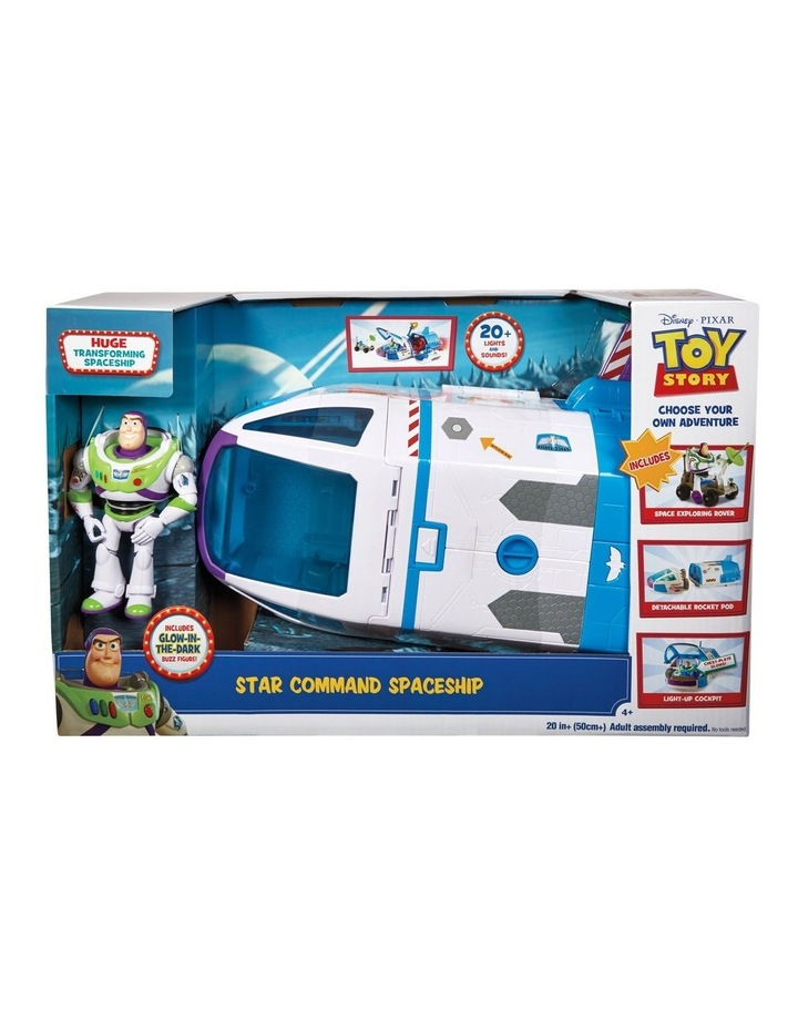 Star Command Spaceship Playset image 1