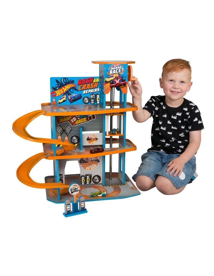 Wooden Garage Playset image 1