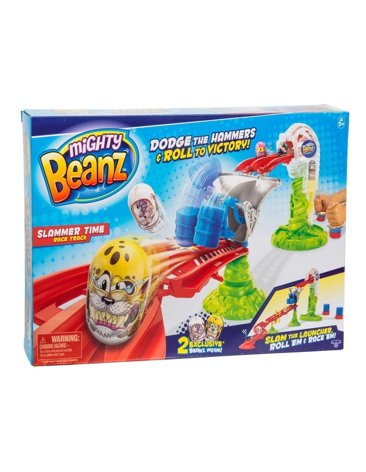 Mighty Beanz Slammer Time Race Track image 1
