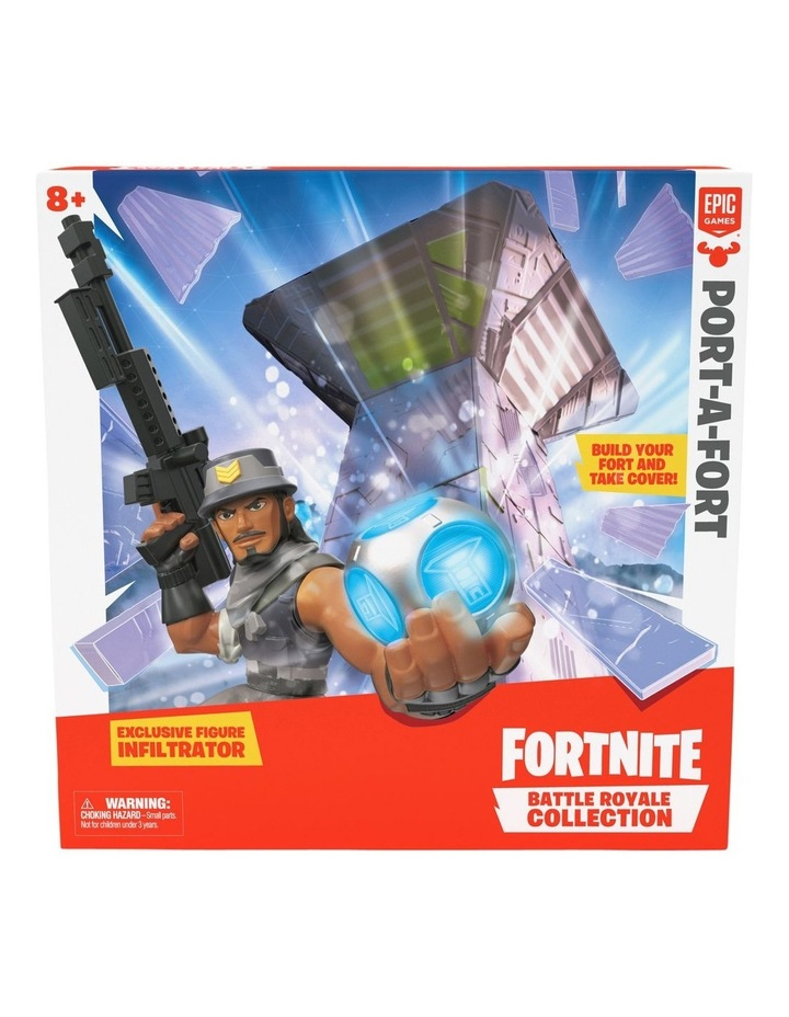 Battle Royale Collection: Port-A-Fort image 1