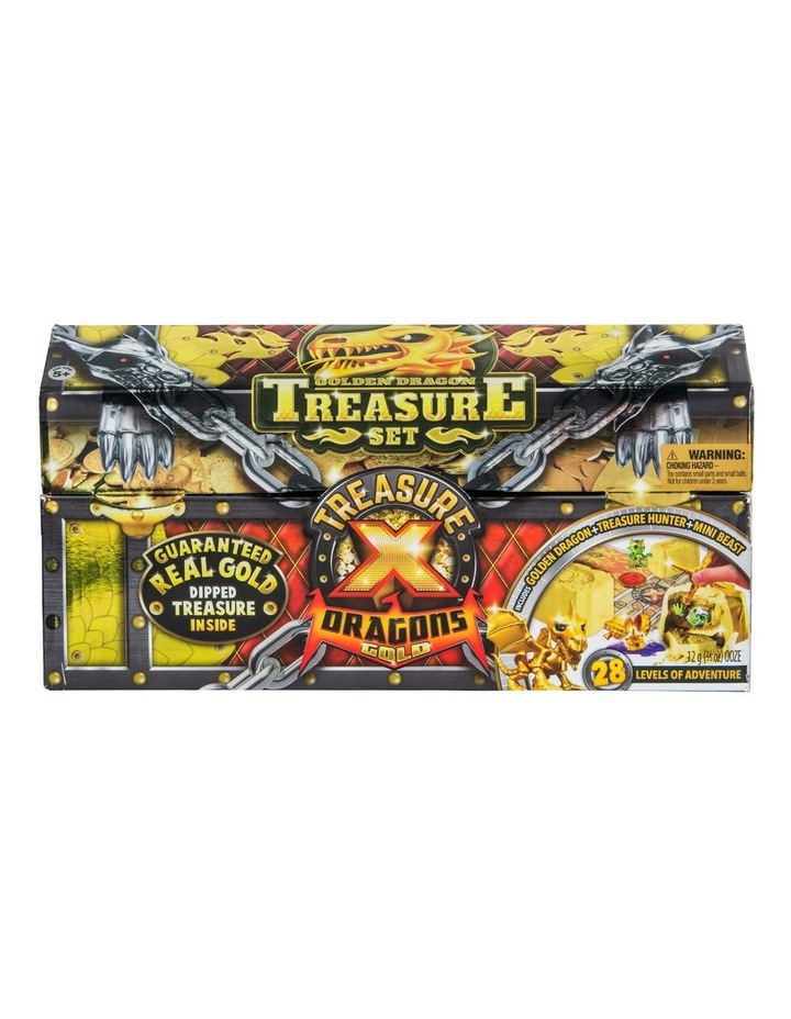 Treasure X: Quest For Dragons Gold - Golden Dragon Treasure Set Assorted image 1