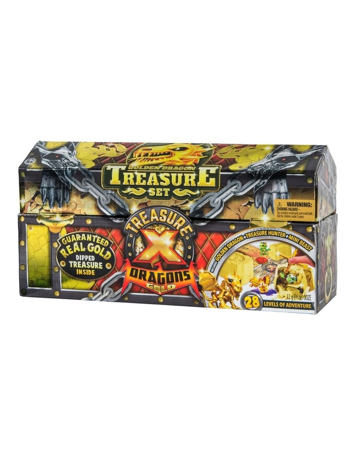 Treasure X: Quest For Dragons Gold - Golden Dragon Treasure Set Assorted image 3