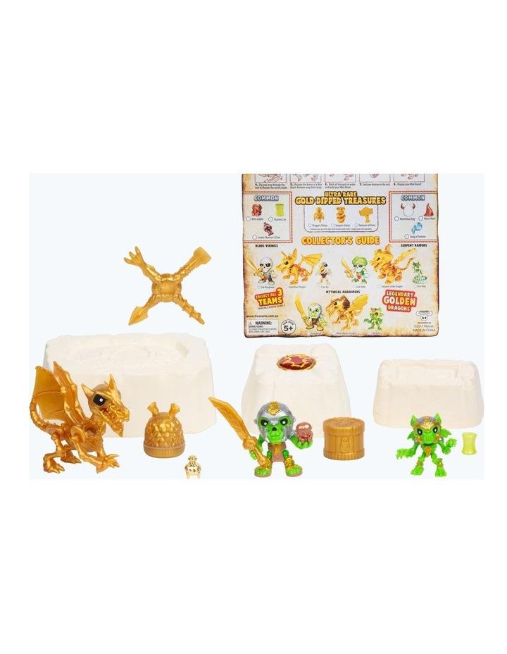 Treasure X: Quest For Dragons Gold - Golden Dragon Treasure Set Assorted image 4