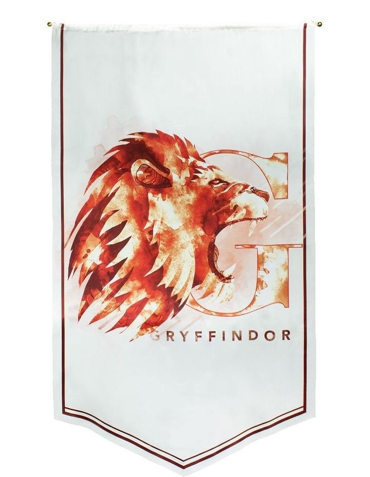 Harry Potter - Gryffindor Watercolour Satin Banner image 1