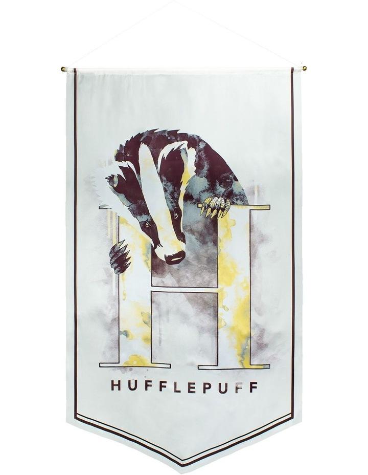 Harry Potter - Hufflepuff Watercolour Satin Banner image 1