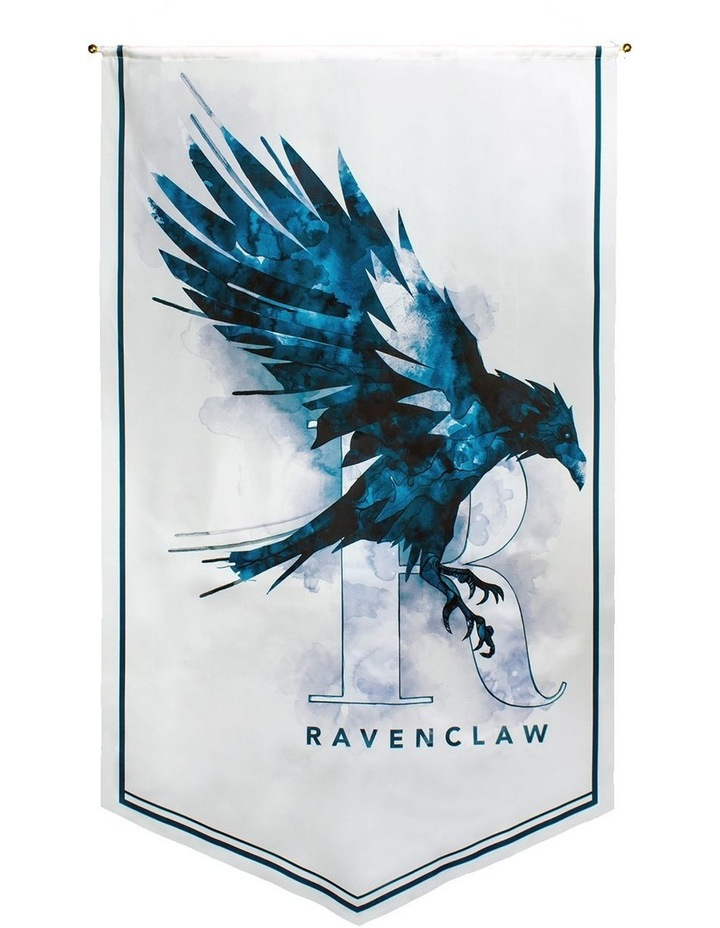 Harry Potter - Ravenclaw Watercolour Satin Banner image 1