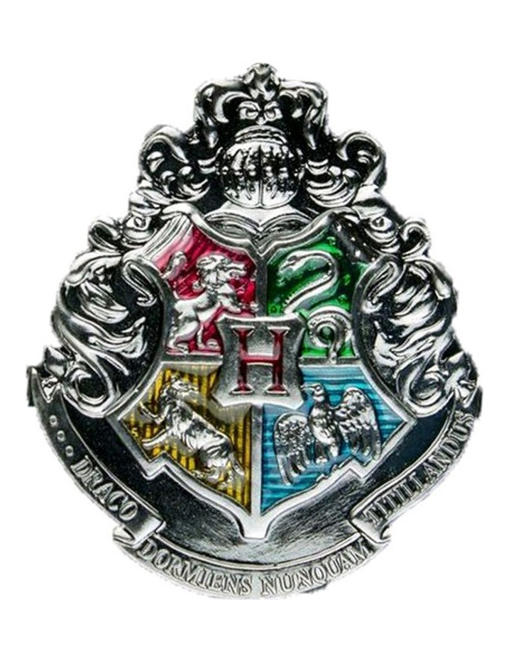 Hogwarts Crest Metal Magnet image 1