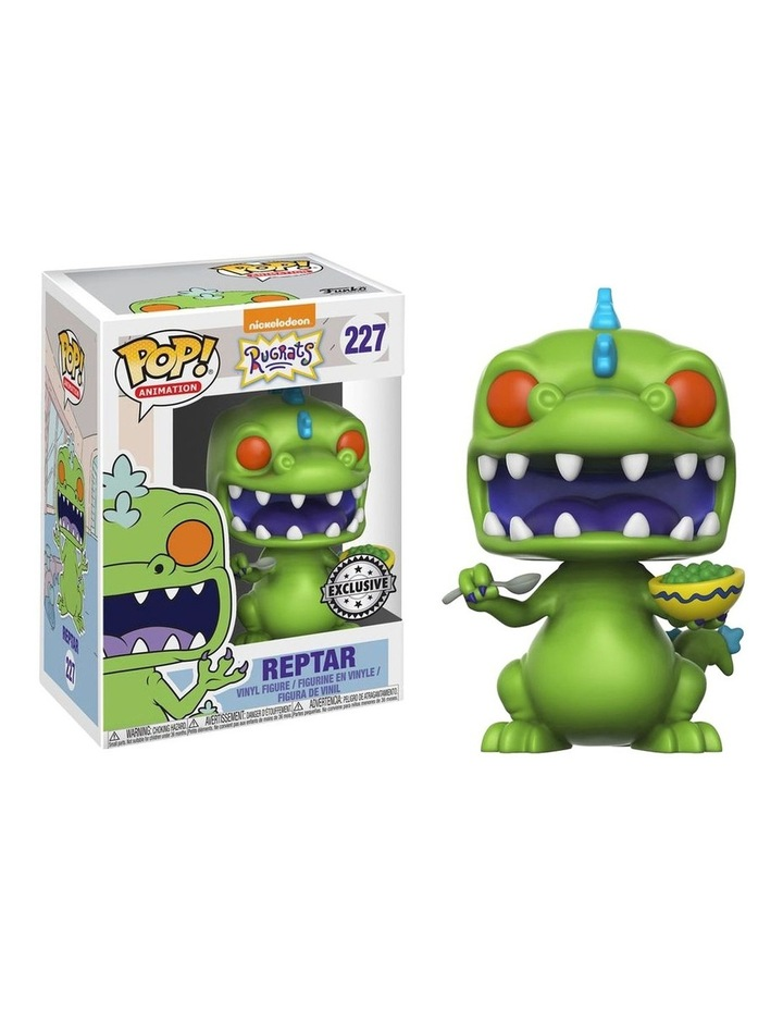 Rugrats - Reptar with Cereal US Exclusive Pop! Vinyl image 1
