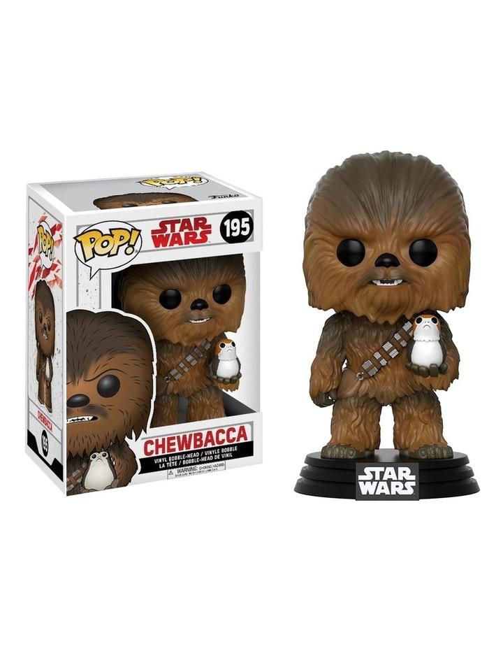 Star Wars - Chewbacca with Porg Episode VIII US Exclusive Pop! Vinyl image 1