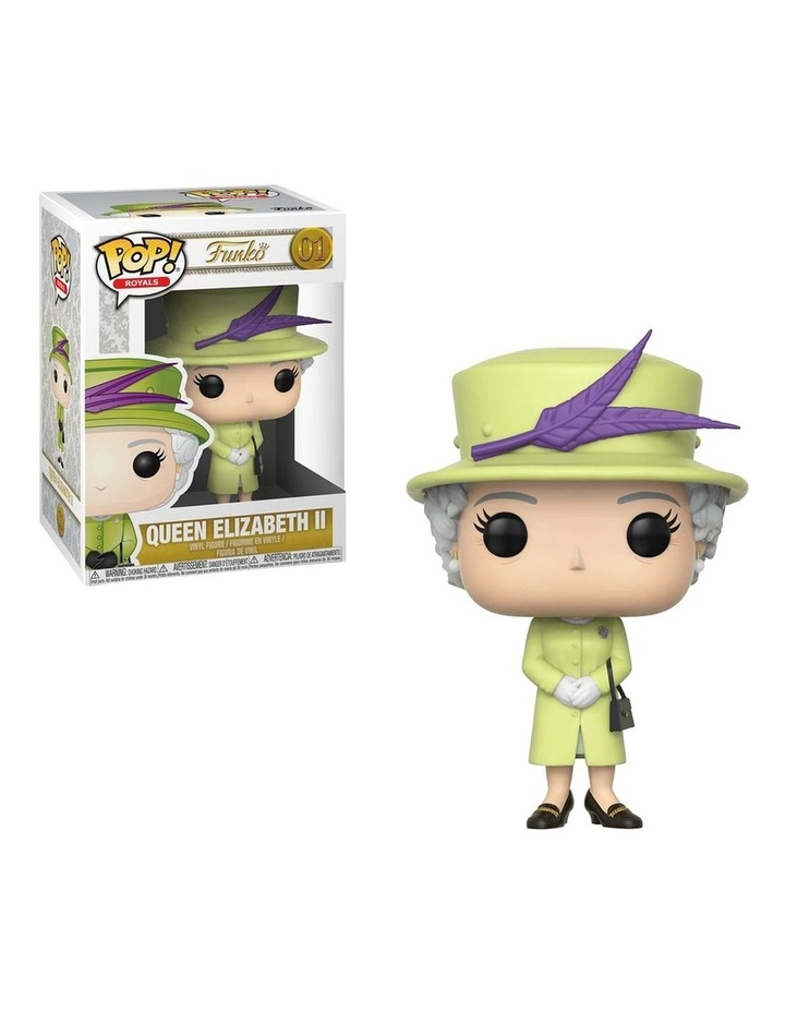Royal Family - Queen Elizabeth II Green Dress Pop! Vinyl image 1