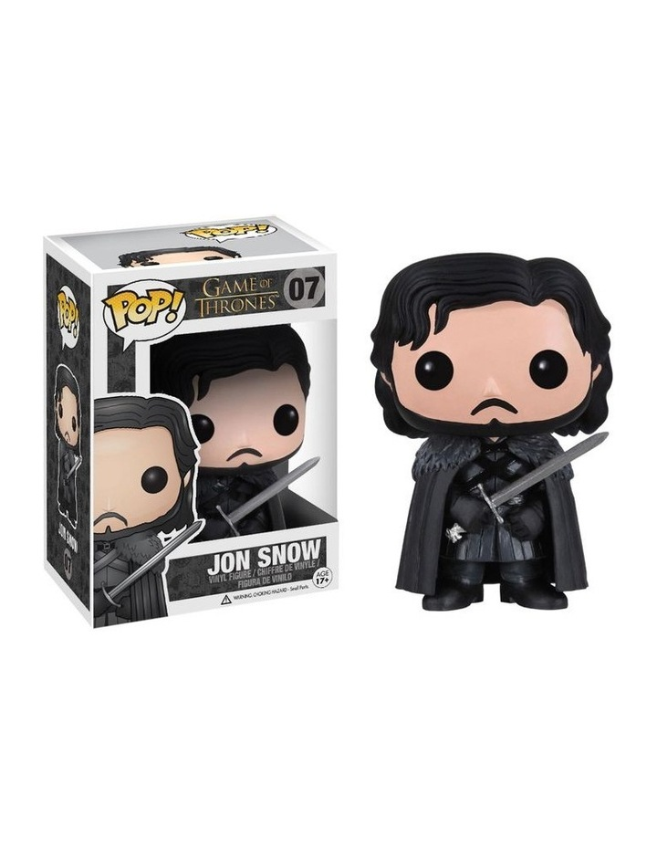 Game of Thrones Jon Snow Pop! Vinyl image 1