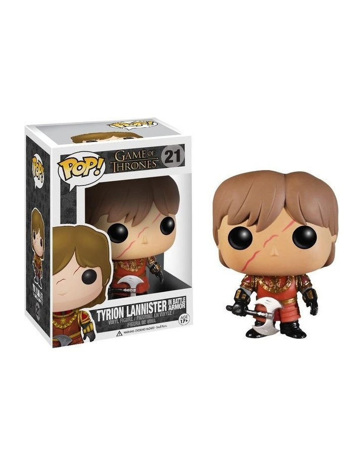Game of Thrones Tyrion Lannister in Battle Armor Pop! Vinyl image 1