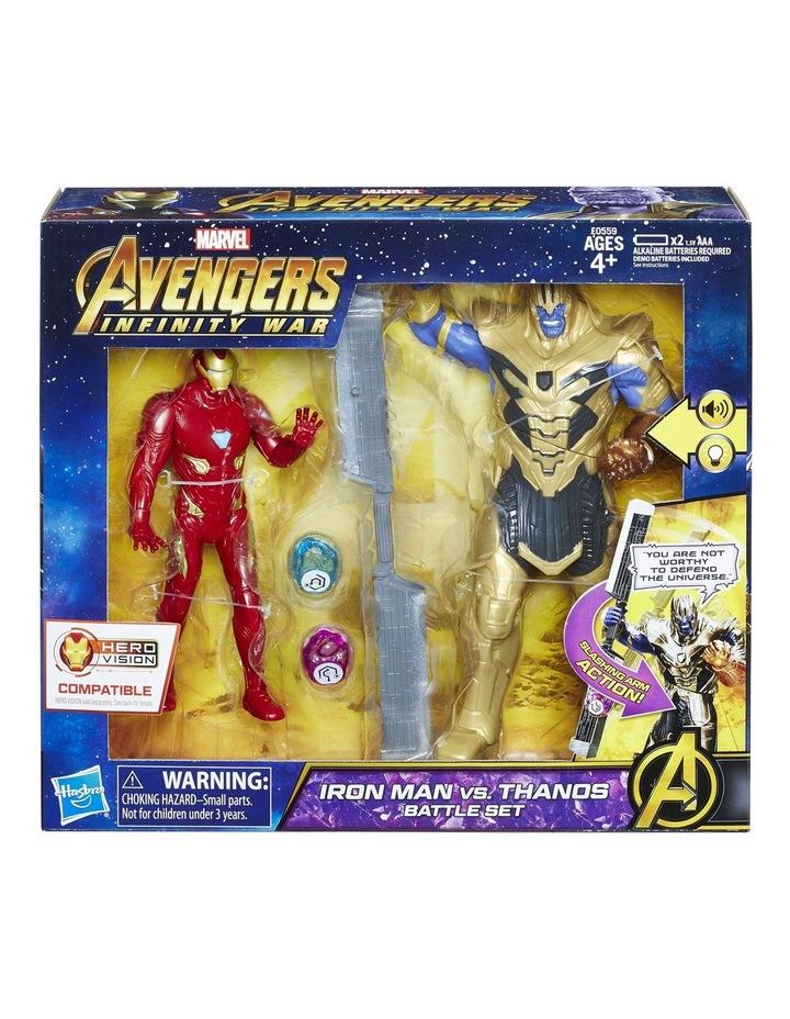 Iron Man Vs Thanos Battle Set image 1