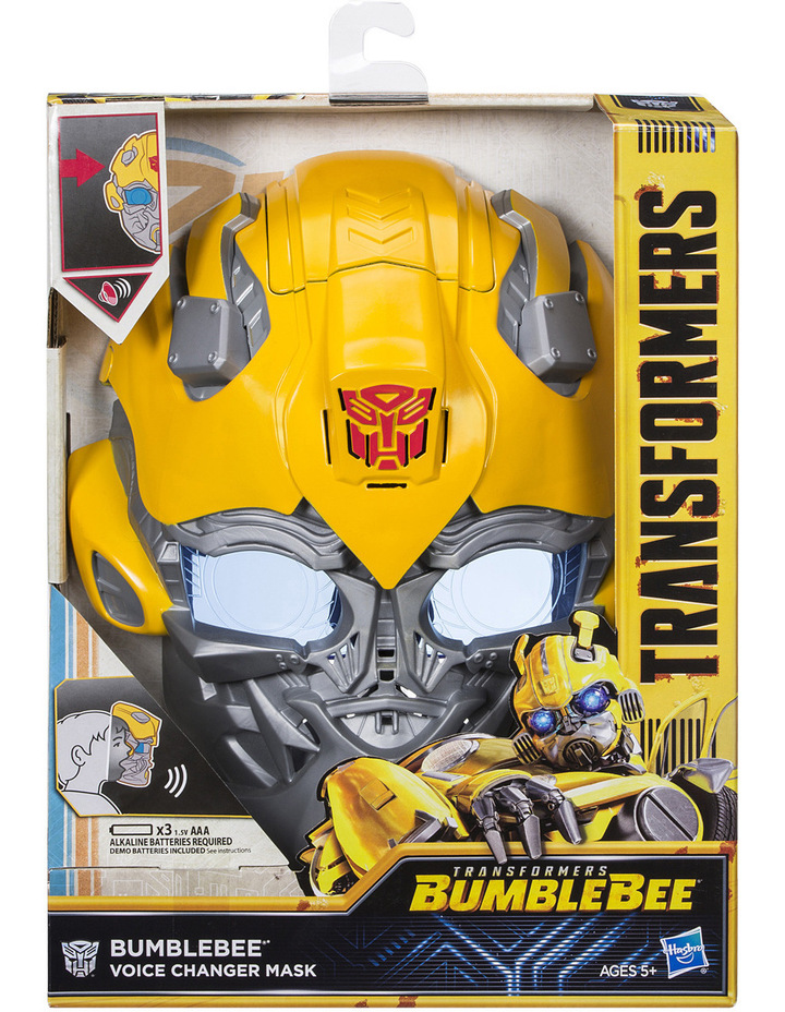 Bumblebee Movie Voice Changer Mask Assorted image 1