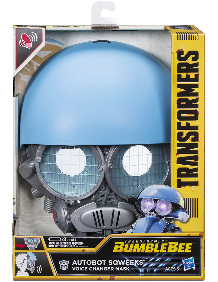 Bumblebee Movie Voice Changer Mask Assorted image 2