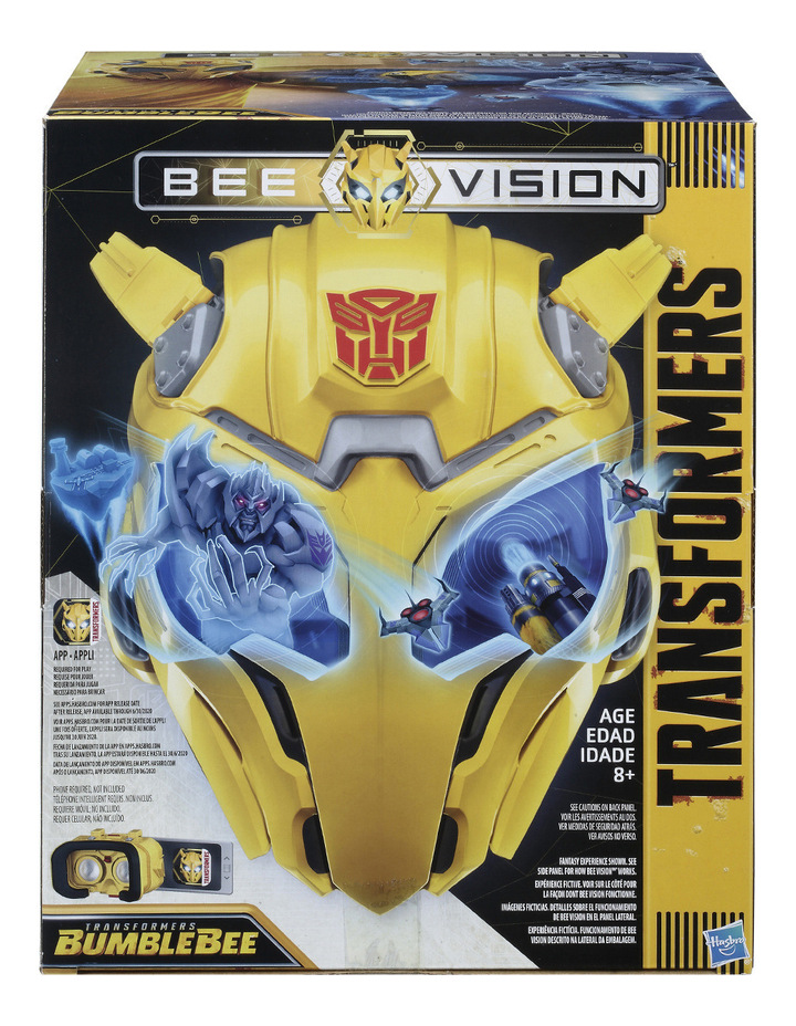 Bumblebee Movie Bee Vision Mask image 1