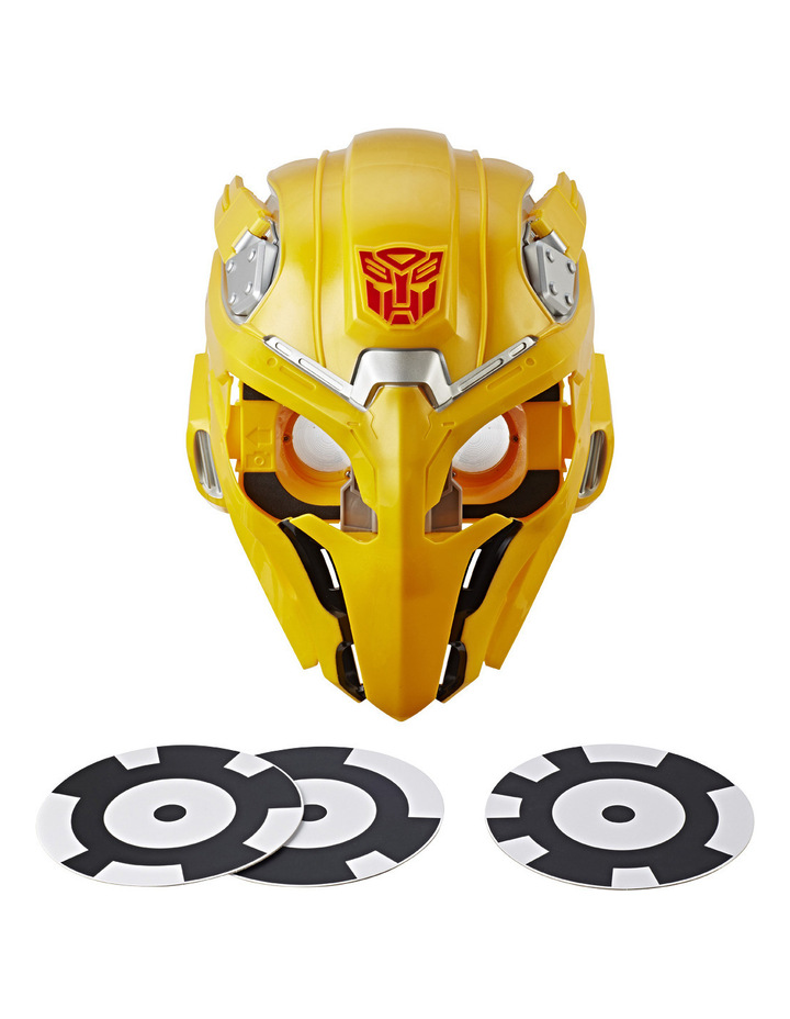 Bumblebee Movie Bee Vision Mask image 3