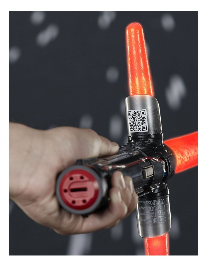Kylo Ren Electronic Red Lightsaber - Lights, Sounds & Phrases image 7