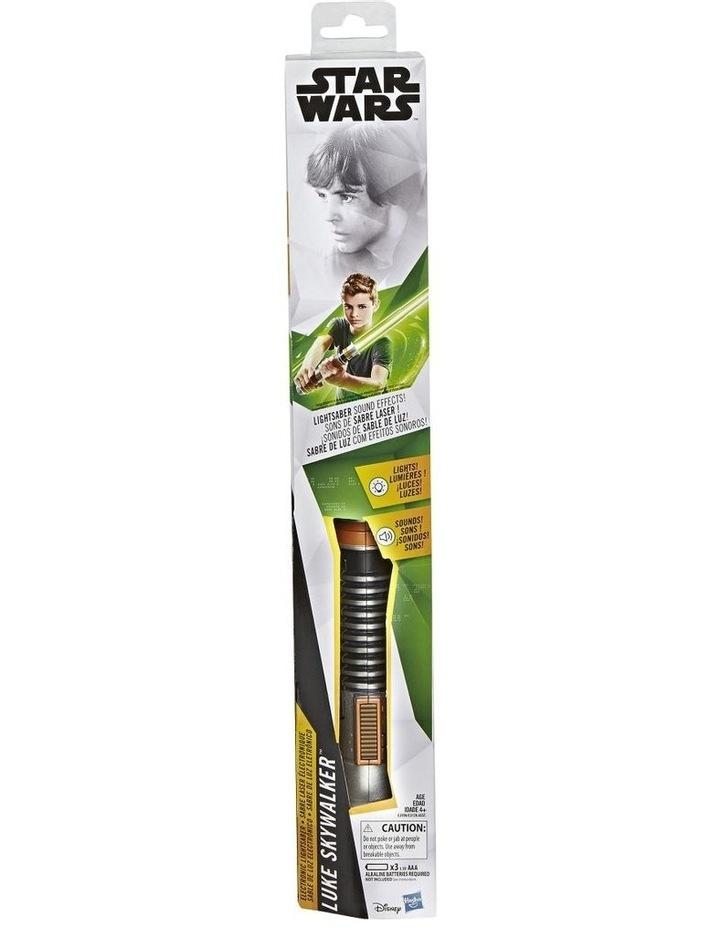Electronic Lightsaber - Luke Skywalker - Darth Vader - Rey  Assortment image 5