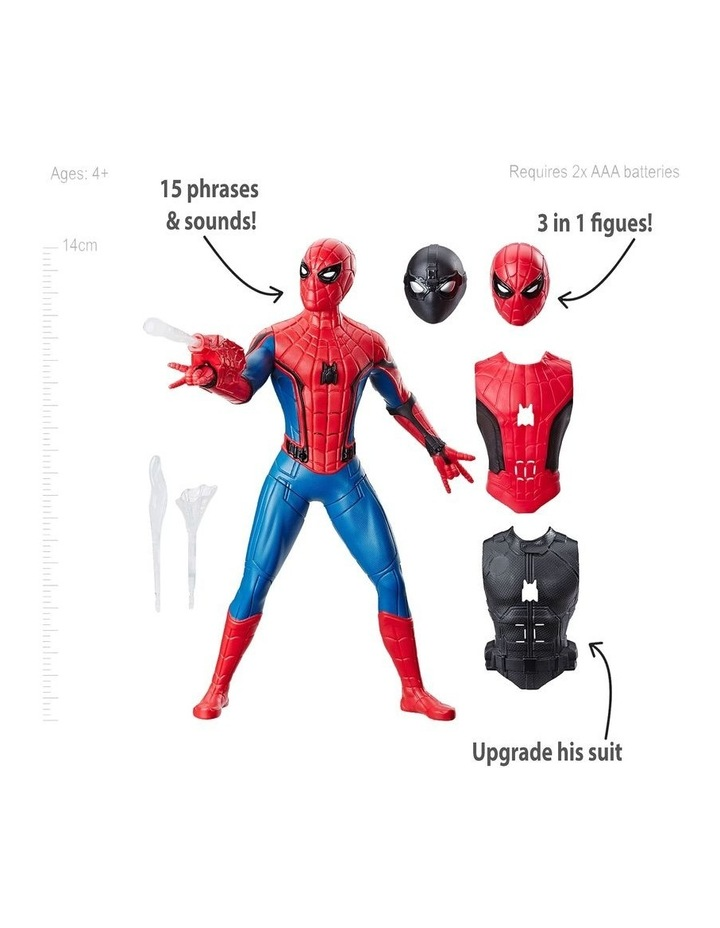 Spider-man Web Gear - 3 in 1 Action Figure - 10  Sounds - Kids Toys Ages 4  image 2