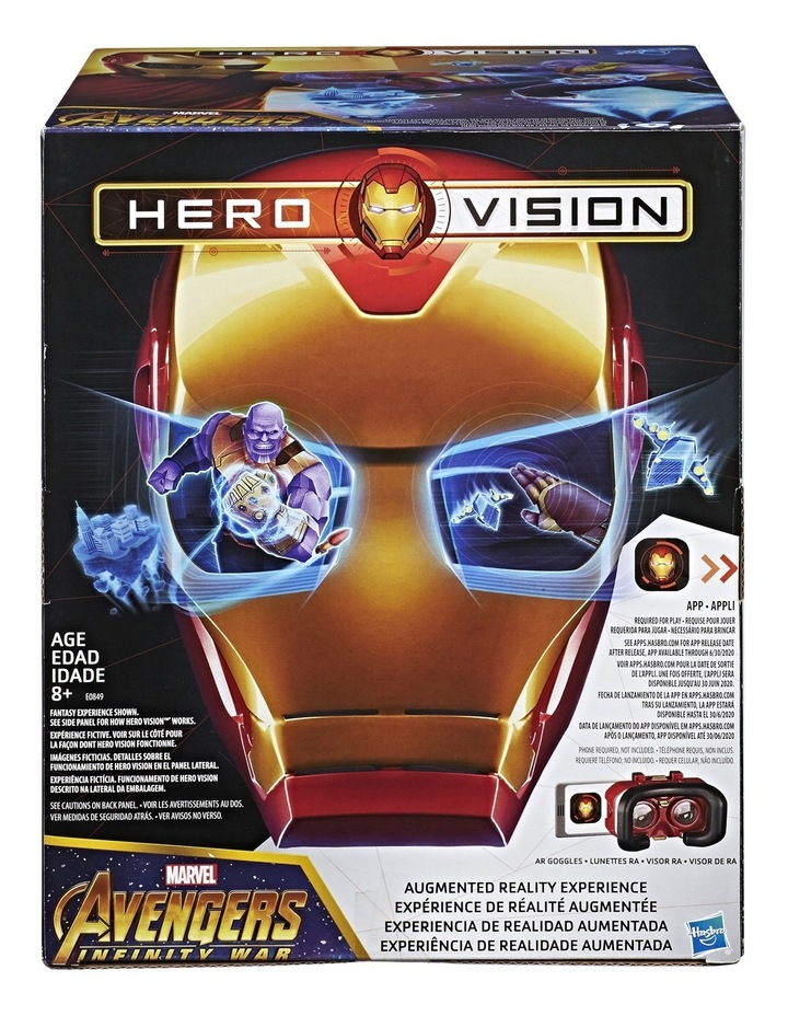 Iron Man Hero Vision Mask image 1