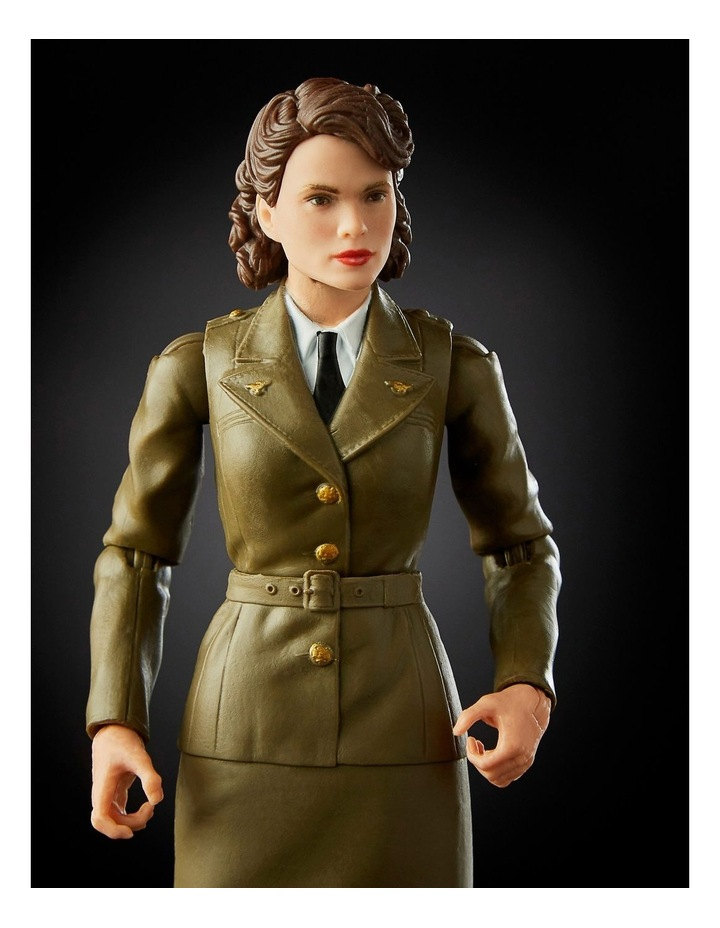 "Captain AmericaThe First Avenger Legend Series - Captain America & Peggy Carter 6"" Action Figures 2 Pack image 5"