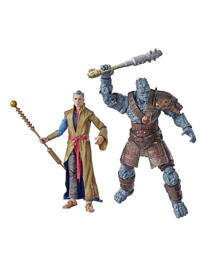 "Thor Ragnarok Legends Series - Grandmaster & Korg 6"" Action Figures 2 Pack image 1"
