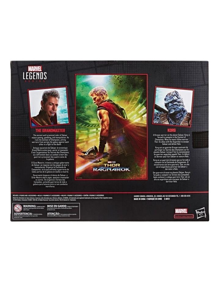 "Thor Ragnarok Legends Series - Grandmaster & Korg 6"" Action Figures 2 Pack image 3"