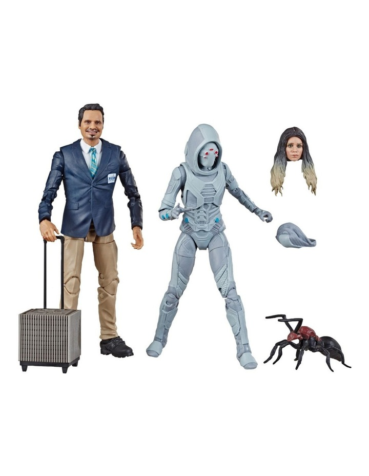 "Ant Man and the Wasp Legend Series - X Con Luis & Marvel's Ghost 6"" Action Figures 2 Pack image 1"