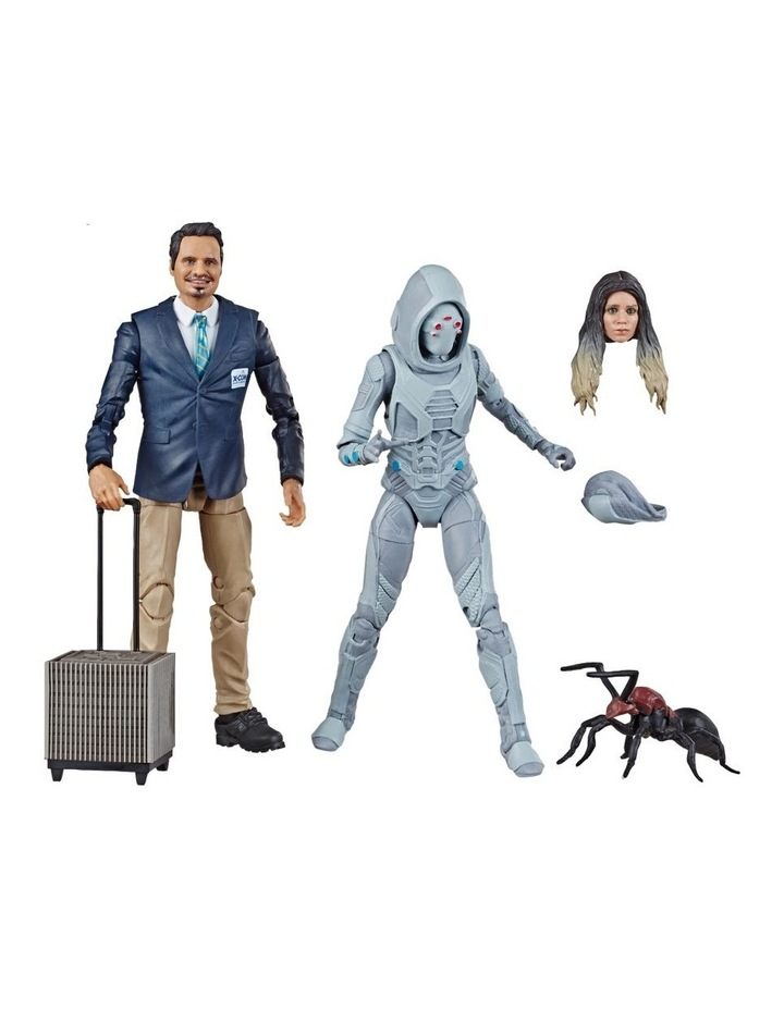 "Ant Man and the Wasp Legend Series - X Con Luis & Marvel's Ghost 6"" Action Figures 2 Pack image 2"