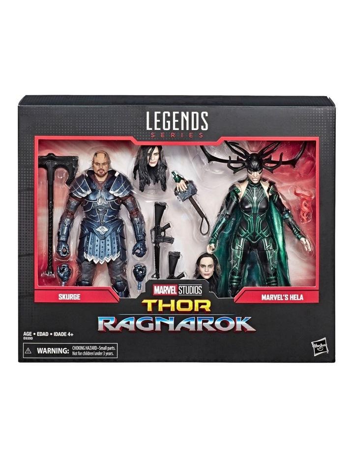 """Legend Series Thor Ragnarok - Skurge & Marvel's Hela 6"""" Action Figures 2 Pack image 2"""