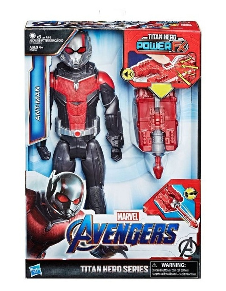 "Avengers Endgame - Ant Man 12"" Action Figure - Titan Power Hero Series FX - Sounds & Phrases image 1"