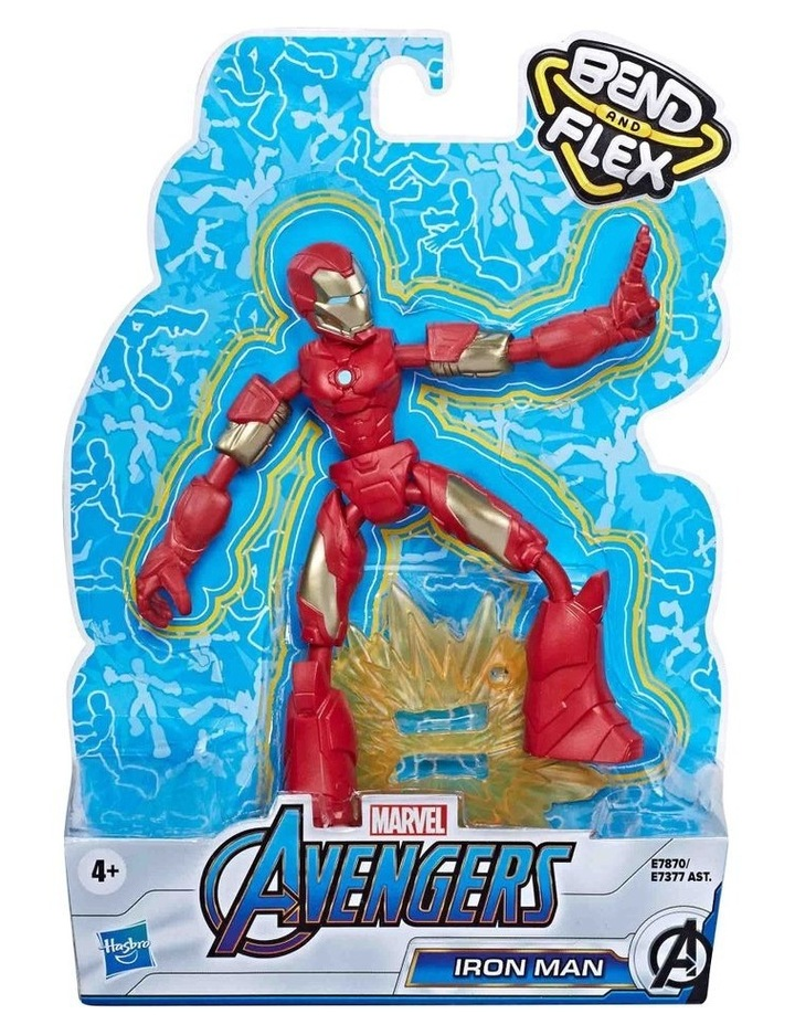 """Avengers Bend & Flex 6"""" Action Figures Assortment image 4"""