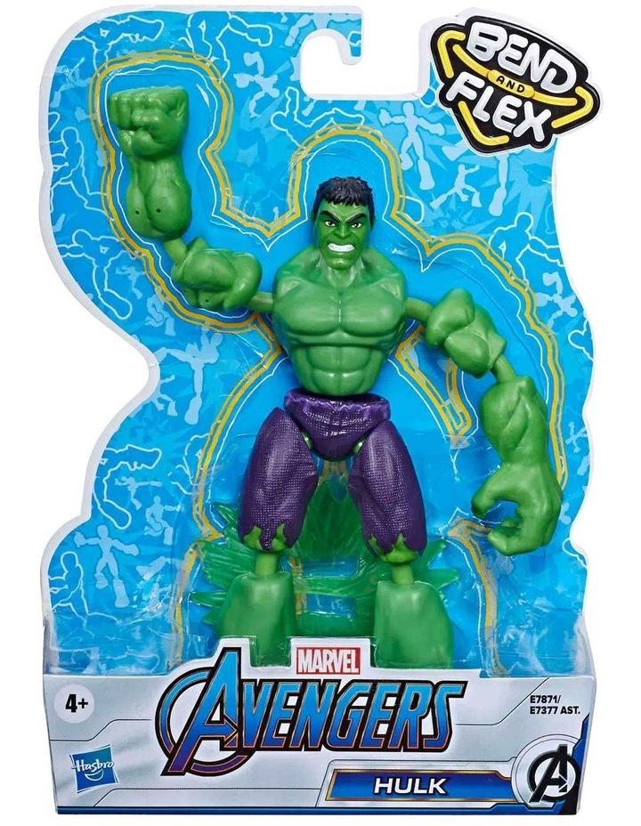 """Avengers Bend & Flex 6"""" Action Figures Assortment image 5"""