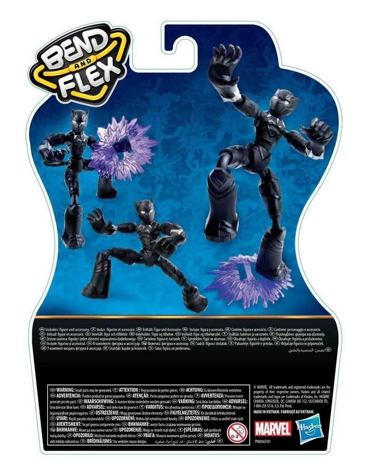"""Avengers Bend & Flex 6"""" Action Figures Assortment image 6"""