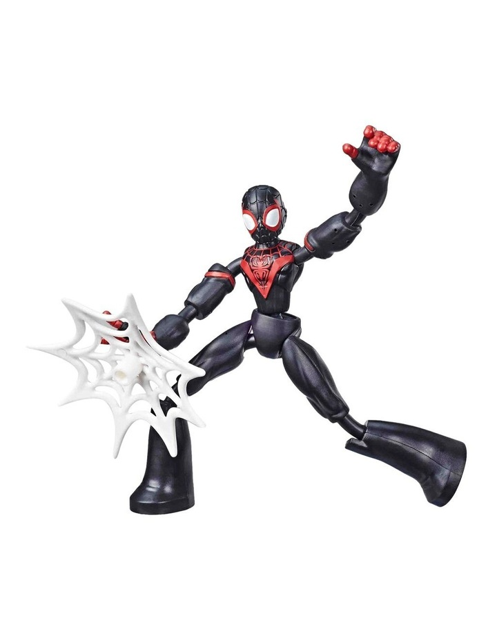 """Bend and Flex 6"""" Action Figures - Assortment - Miles Morales - Venom - Ghost Spider - Spider Man - Each Sold Separately image 2"""