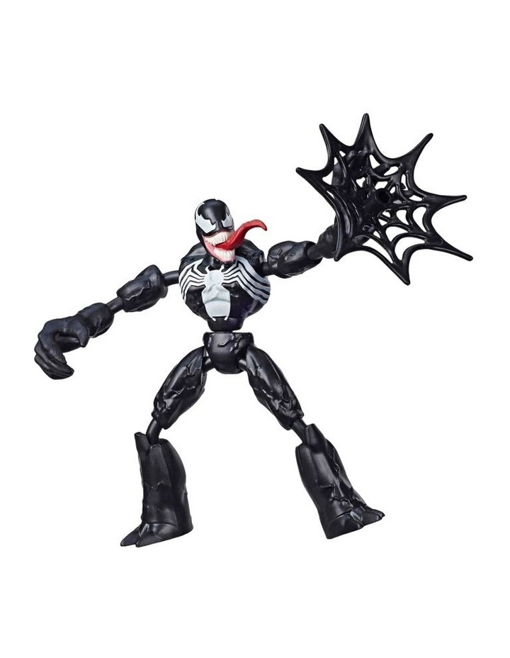"""Bend and Flex 6"""" Action Figures - Assortment - Miles Morales - Venom - Ghost Spider - Spider Man - Each Sold Separately image 3"""