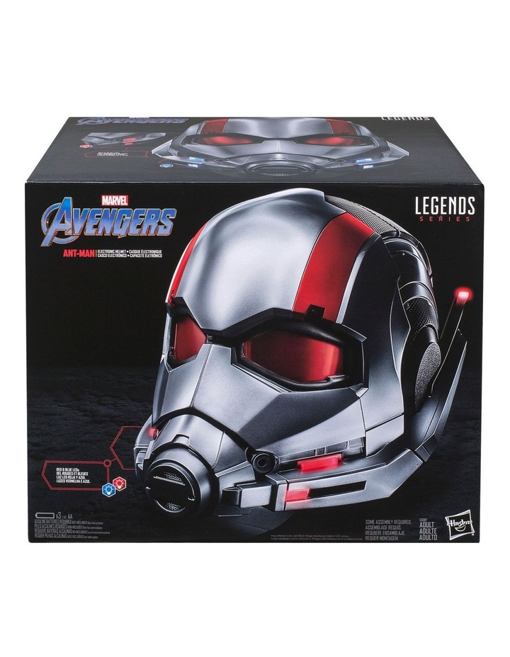 Legends Series Ant-Man Roleplay Premium Collector Movie Electronic Helmet with LED Light FX image 1