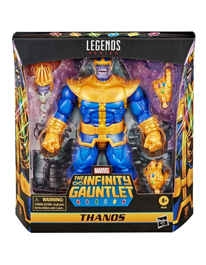 Hasbro Marvel Legends Series 6-inch Collectible Action Figure Thanos Toy image 1