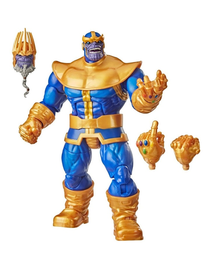 Hasbro Marvel Legends Series 6-inch Collectible Action Figure Thanos Toy image 2