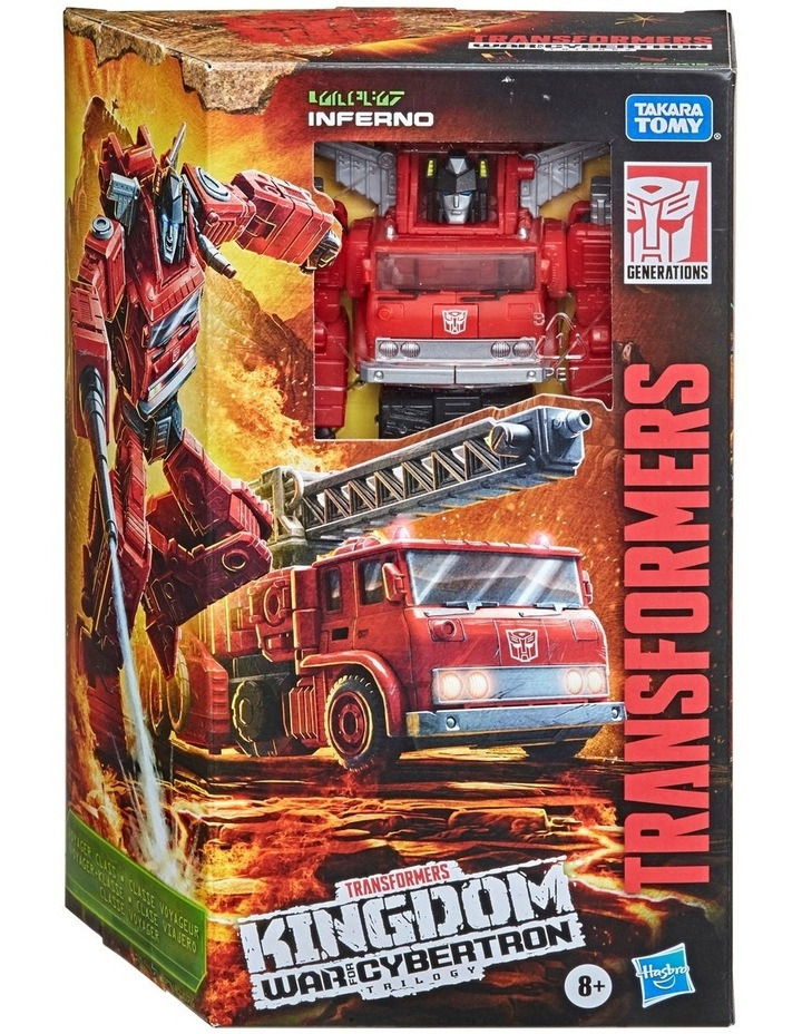 Transformers Generations War for Cybertron: Kingdom Voyager Class image 3